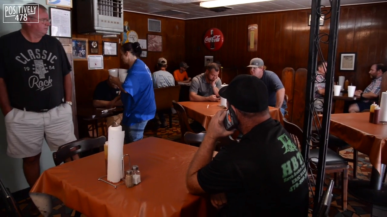 This Macon barbecue joint hasn't changed much since 1947. Have you tried the Pig Special?