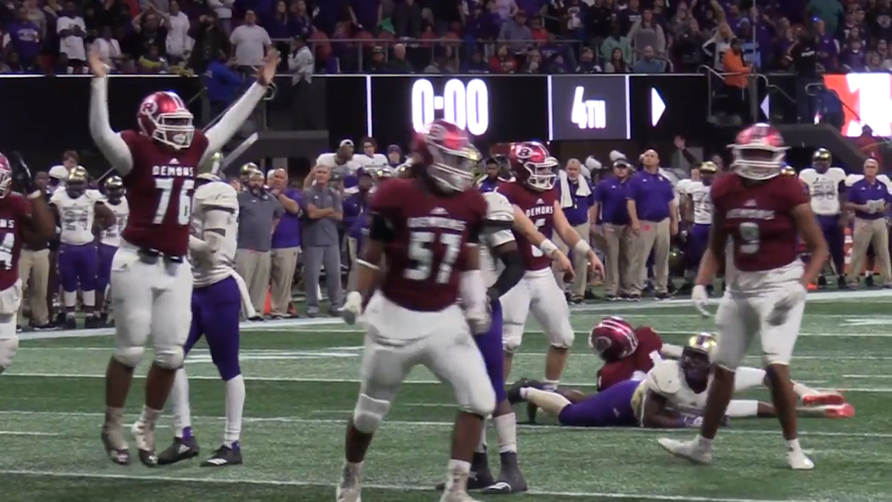 GHSA officially moves football state title games out of Mercedes Benz Stadium