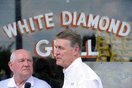 Here's what Georgia Sen. David Perdue likes about President Trump