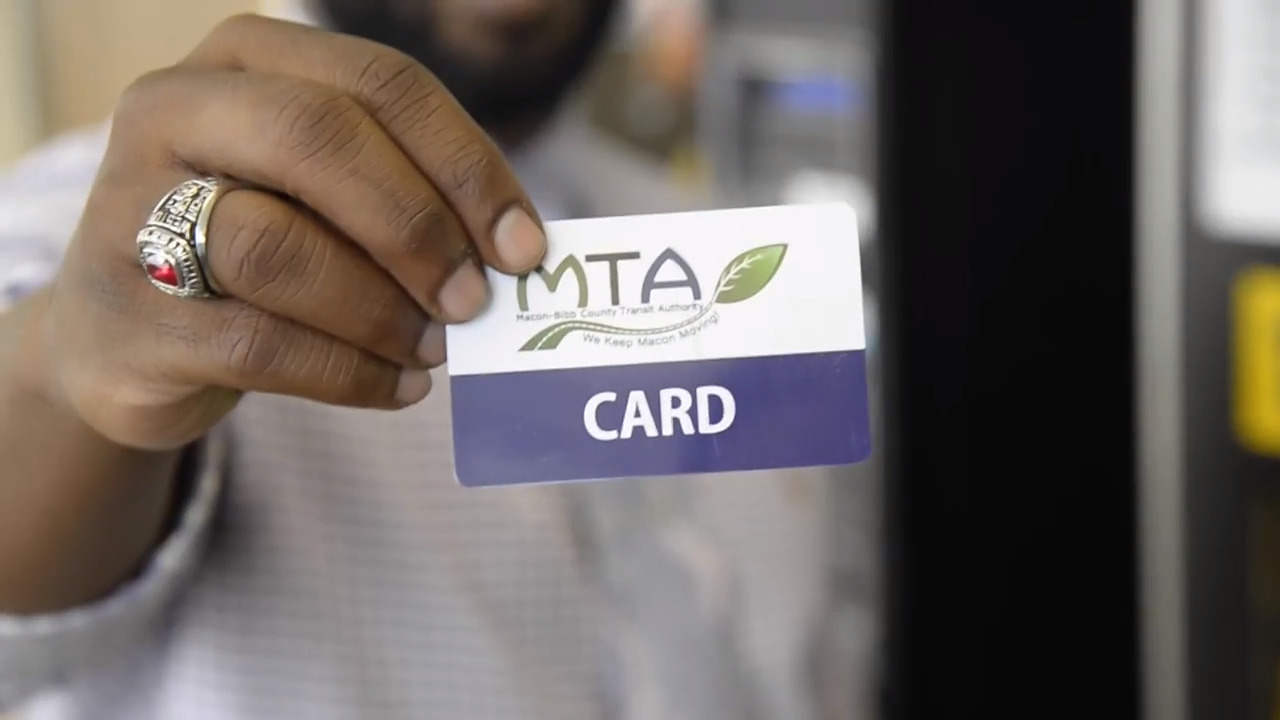Paper passes are so 2018. How to purchase, use new cards from Macon Transit Authority