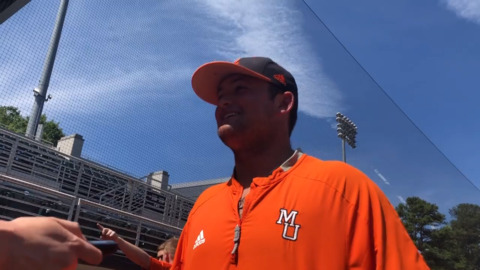 Mercer pitcher from Houston County talks about community support