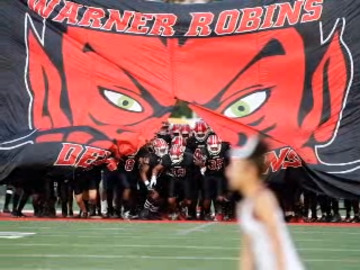 Our favorites photos from Warner Robins-Baldwin football  game Friday
