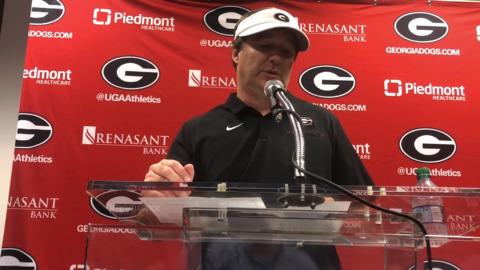 'Our kids were resilient today.' UGA's Kirby Smart reacts to win over Florida Gators