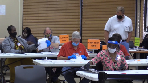 Bibb election recount for 2020 Presidential election begins