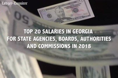 Top 20 salaries for state employees in Georgia: Who makes the most money?