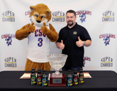 CSU Cougars have new sports drink - and it's from a local company