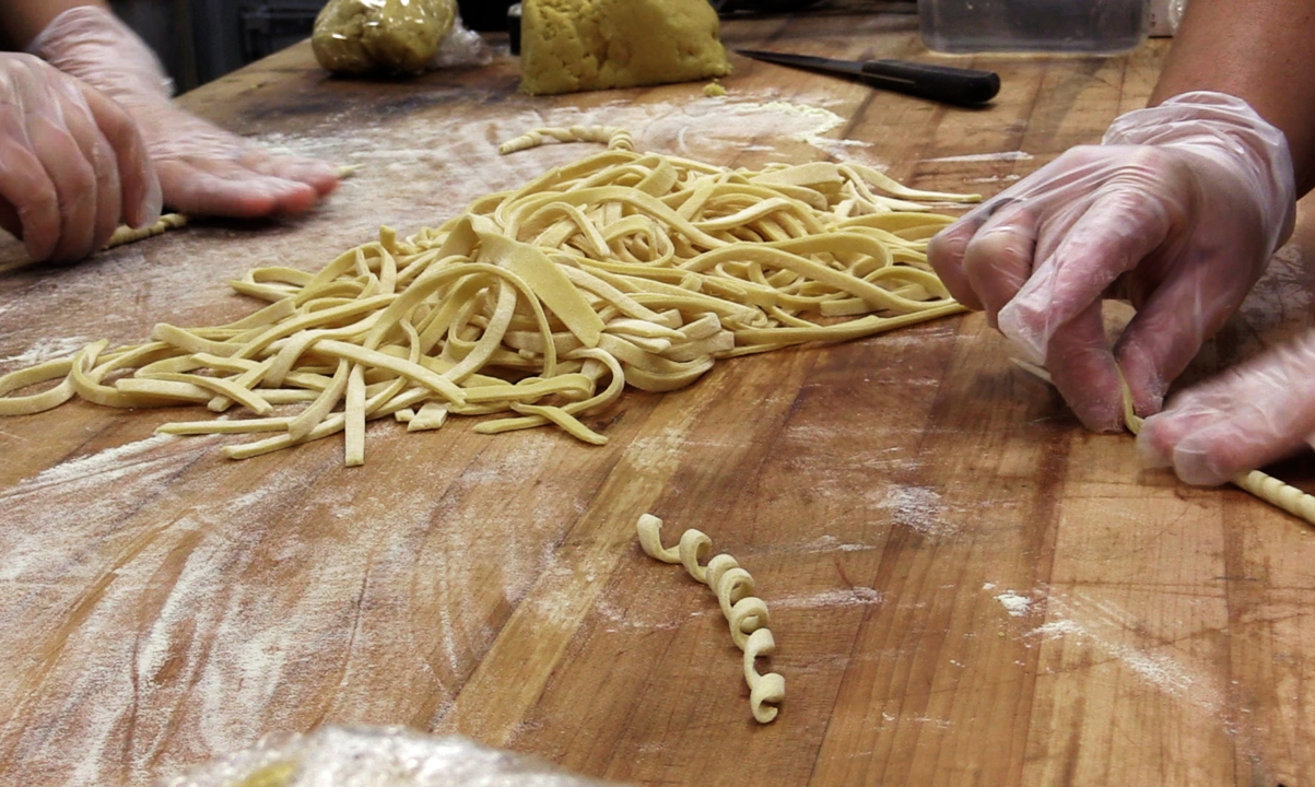 Order Up!: A look inside Trevioli's Italian Kitchen as chefs create handmade pastas