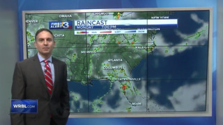 Columbus, Phenix City weather for May 22 from WRBL's Bob Jeswald