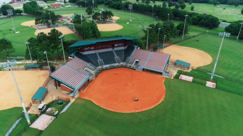 Officials put finishing touches on South Commons Softball Complex renovation project