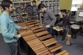 Local percussionists create symphony of sound