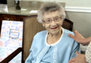 107 year old woman gives sage advice on her birthday