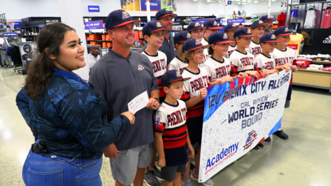 Donation from business to help pay for local team's trip to Cal Ripken World Series