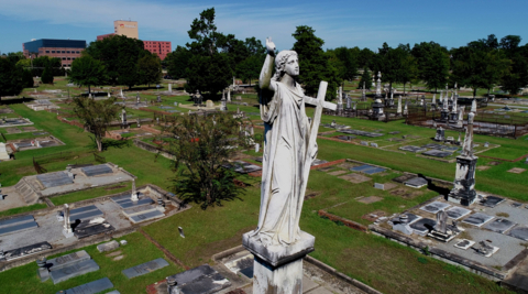 Drone video: Soar over Linwood Cemetery and learn about the upcoming Fall Ramble