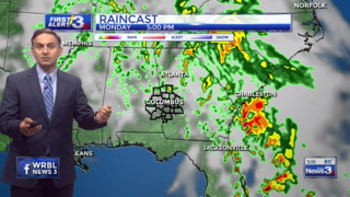 Columbus, Phenix City weather for April 24 from WRBL's Bob Jeswald