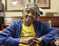Five generations of family sing and celebrate 96-year old matriarch