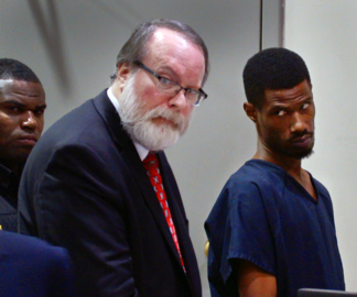 Man charged with murder in fatal shooting at Citgo gas station pleads not guilty