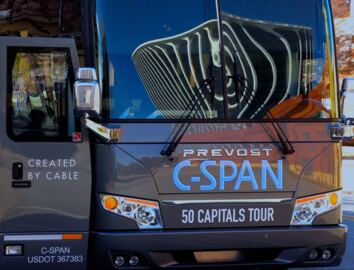 C-SPAN and Mediacom partner to bring interactive bus tour to Columbus