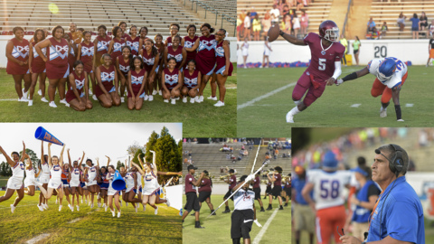 Sights and Sounds from Carver vs. Columbus football game