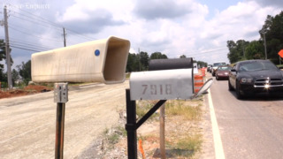 Family fears for safety after mailbox lands in middle of Veterans Parkway  project