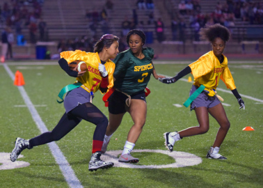 Check out the first night of Girls Flag Football in Muscogee County