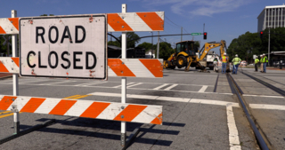 Railroad work closes section of Veterans Parkway today