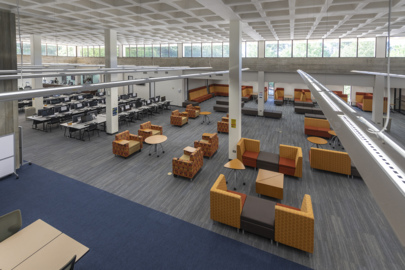 Columbus State University unveils library renovations. Here's a quick tour