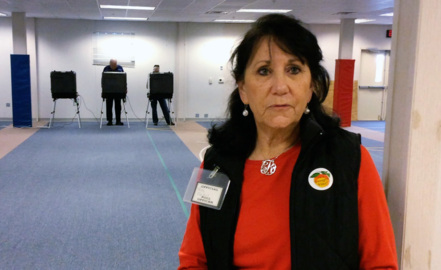An act of kindness at the voting booth in Harris County