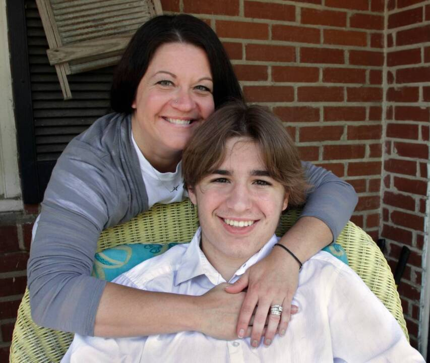 Mother's Day more cherished after son's life saved at school