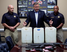Sheriff: traffic stop and good, old fashioned police work help law enforcement bust moonshine operation