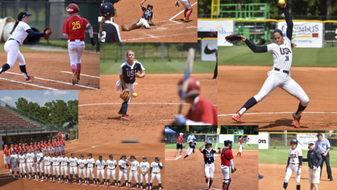USA national teams remain unbeaten through day two at International Softball Cup