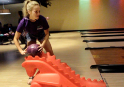 Take a few bowling tips from Miss Georgia contestants as they let it roll at Stars and Strikes bowling alley and arcade