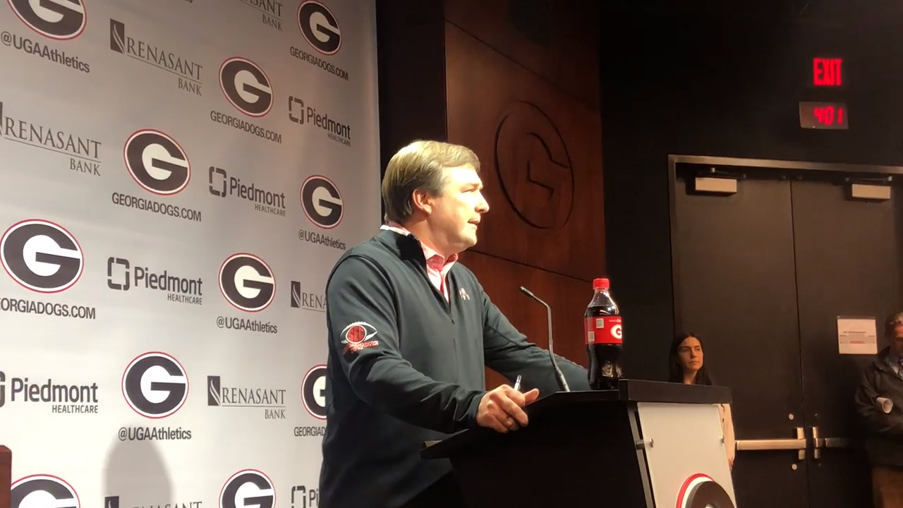 'He's not coming across the country to sit': How UGA plucked Kendall Milton from California