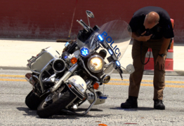 Columbus motorcycle officers involved in afternoon accidents