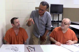 Artist Bo Bartlett partners with sheriff's office to create unique art in jails program