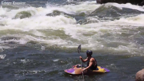 Two world championship kayaking competitions are coming to Columbus, Georgia