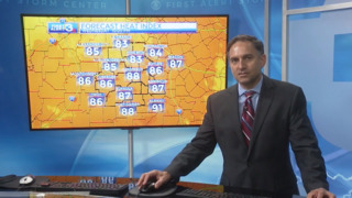 Columbus, Phenix City weather for June 21 from WRBL's Bob Jeswald