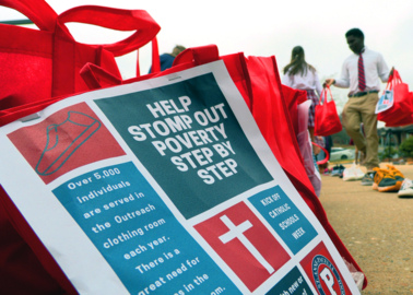 Student-led effort to alleviate poverty nets more than 2,000 pairs of shoes