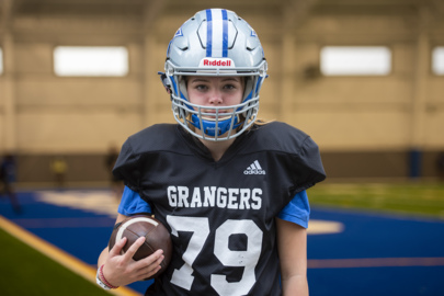 Female kicker at LaGrange High School brings soccer skill to gridiron