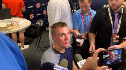 'I was pretty comfortable': Auburn QB Bo Nix confident after strong performance vs. Kent State