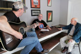 Korean War veteran shares his story, and watches as songwriters put it to music