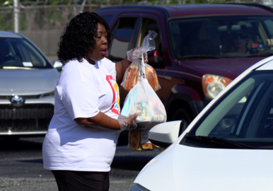 Church provides free food, glimpse of their heart during coronavirus pandemic