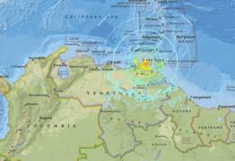 Earthquake causes panic in Caracas