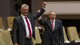 Miguel Mario Díaz-Canel is the new president of Cuba