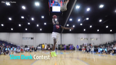 How an early miss helped this local steal show on Beach Ball dunk, 3-point contest night