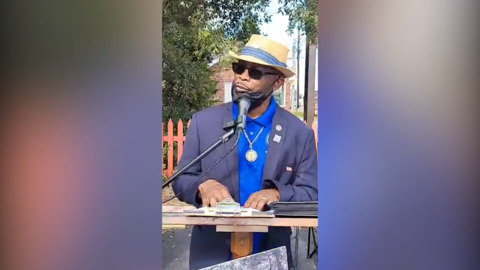 Georgetown NAACP leader Marvin Neal calls on Horry County Treasurer Angie Jones to resign