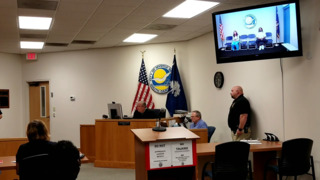 Heather Odom addresses the court after her son shot himself in Myrtle Beach