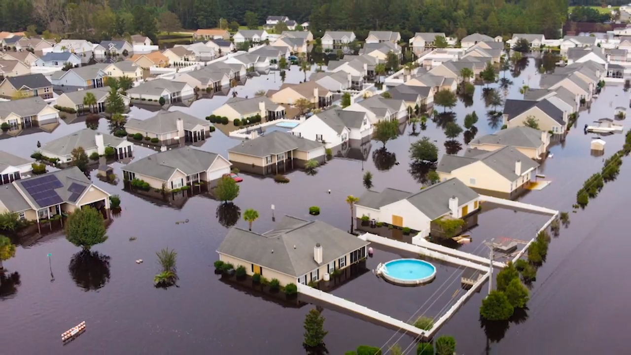 Polo Farms Neighborhood In Longs Are Flooded Out After Florence Myrtle Beach Sun News