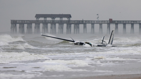 What We Know About The Small Plane That Crashed Near Myrtle Beach State Park Last Month