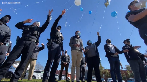 """Balloon release to honor Lt. James """"Odell"""" Cochran on anniversary of his death"""