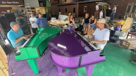 New Orleans style dueling piano bar and restaurant opening in downtown Myrtle Beach